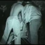 【本物レイプ動画】ガチ注意!泥酔して公園のベンチで寝てるギャルを2人のDQNが連続種付け姦・・・