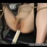 【本物レイプ動画】純粋な人妻の四肢を縛り極太浣腸で肛門大拡張!ドS男にSM凌辱を受ける美女のアナルは大量の液体を噴射www