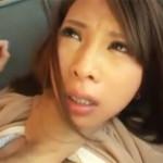 【本物レイプ動画】痛いぃ!美人奥様をビンタに首絞め、スパンキングし凌辱レイプしたキチ○イ男・・・