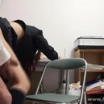【本物レイプ動画】万引き常習犯の女子高生が商品を取った瞬間の写真で脅されガチレ○プwww