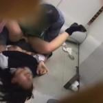 【本物レイプ動画】万引きしたにも関わらず反省していない女子高生に強姦して解らせる!